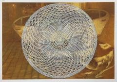 Lydia Viscardi, Coverup Sphere on Amber_2018_Altered digital print