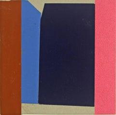 Elizabeth Gourlay, B209, 2018, Minimalist abstraction, paper, collage
