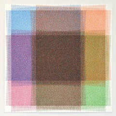 Sara Eichner, 32 Layers of Rectangles, 2016, Minimalist Abstraction, Ink