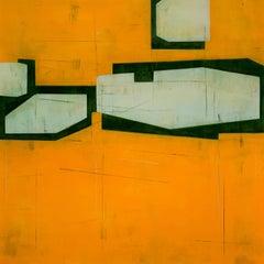 Steven Baris, Drift 9, 2018 , Minimalist Abstraction, mylar, oil paint