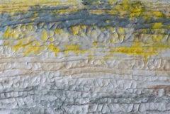 Sylvia Schwartz, 'Yellow Word Landscape', 2014, Handmade Paper, Minimalist