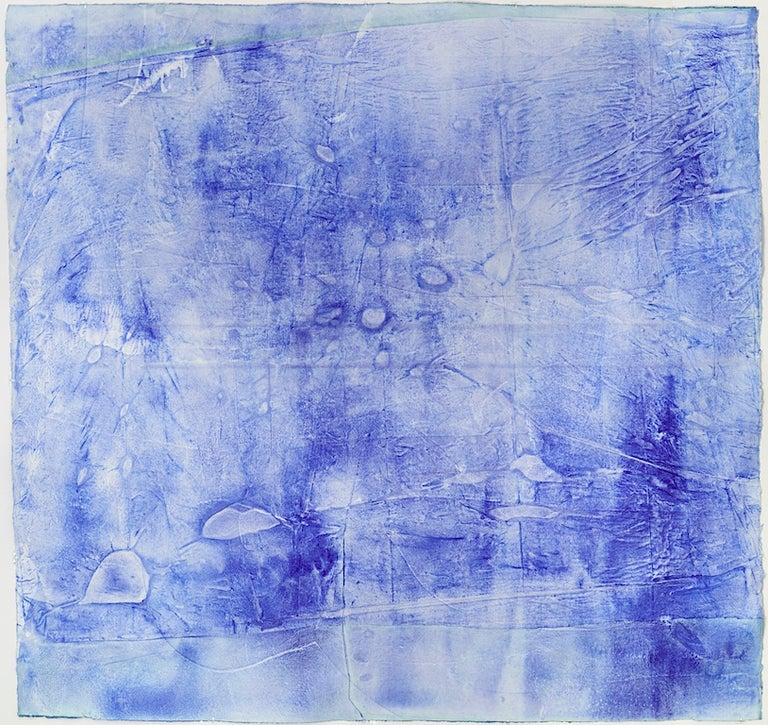 Ellen Hackl Fagan, Seeking the Sound of Cobalt Blue_Oceanic Plastic, 2015 - Art by Ellen Hackl Fagan
