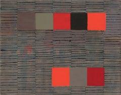 Elizabeth Gourlay, 'Evening Letter', 2012, Muslin, Ink, Tempera, Graphite