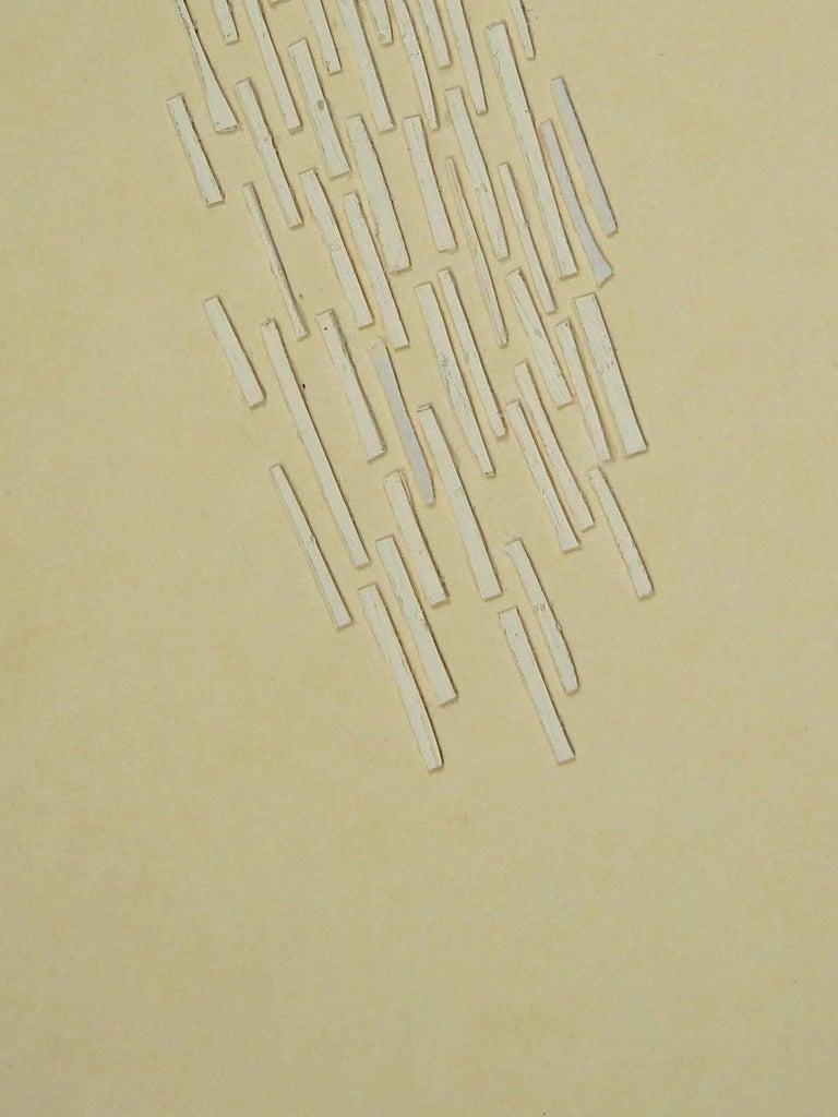 Liz Sweibel, Untitled (After Japan #8), 2017, Minimalist, Paper, Acrylic Paint For Sale 1