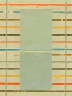 Elizabeth Gourlay, 'Sistrum 2', 2016, Acrylic, Wood Panel, Pigment, Minimalist