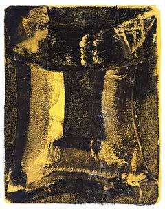 Anne Russinof, Arcs 94, 2016, Monotype, Acrylic, Archival Paper, Minimalist