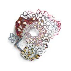 Nancy Baker, Fewer Answers, 2017, paper, acrylic, digital pigment print