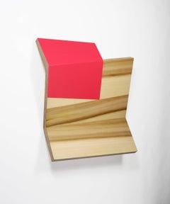 Richard Bottwin, Square 2, 2018, poplar, plywood, acrylic paint