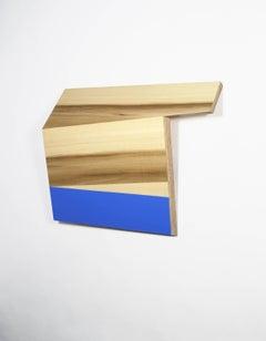 Richard Bottwin, Square.1, 2018, poplar, plywood, acrylic paint