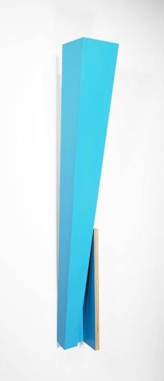 Richard Bottwin, 'Blue Beam', 2016, Wood, Acrylic Paint