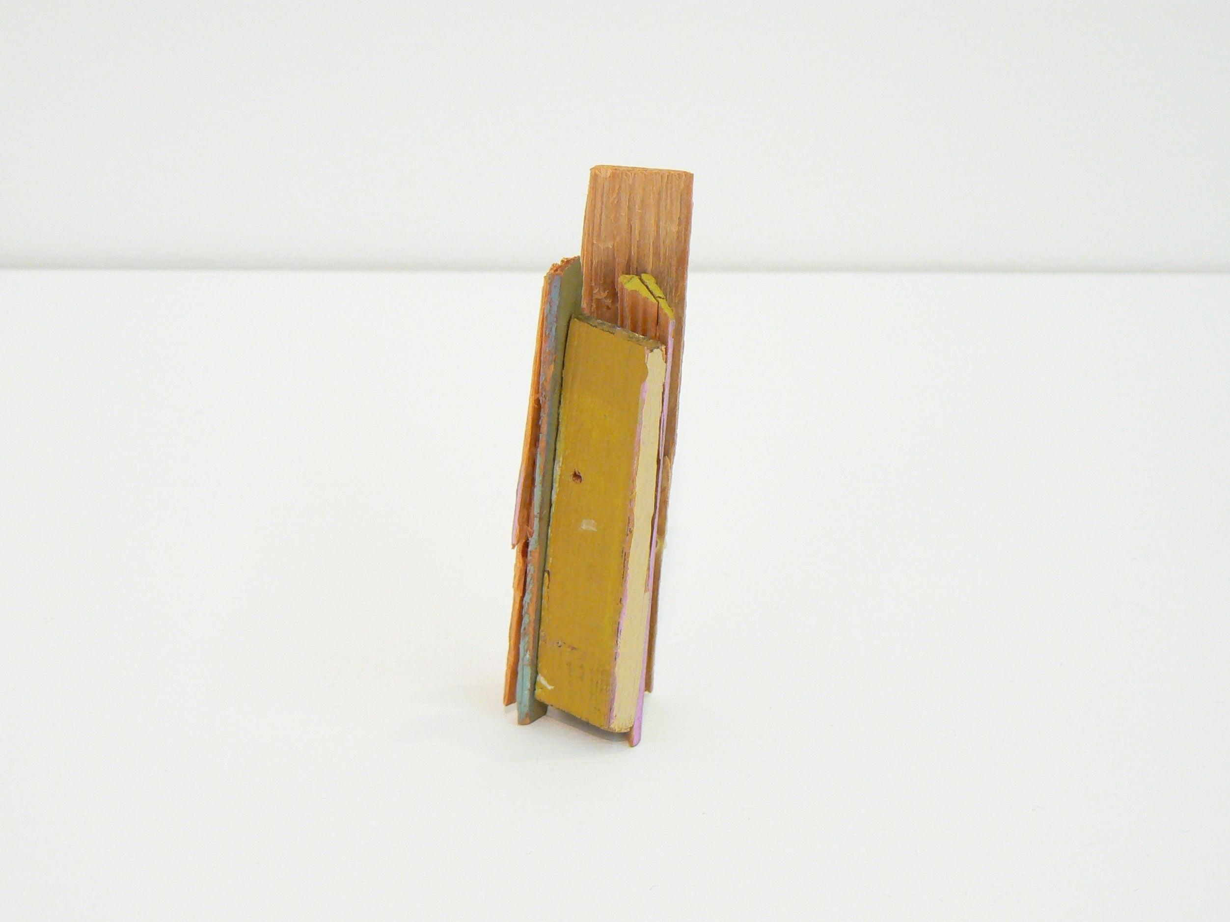 Liz Sweibel, Untitled (Scrapings #3), 2016, Wood, Paint, Found Objects