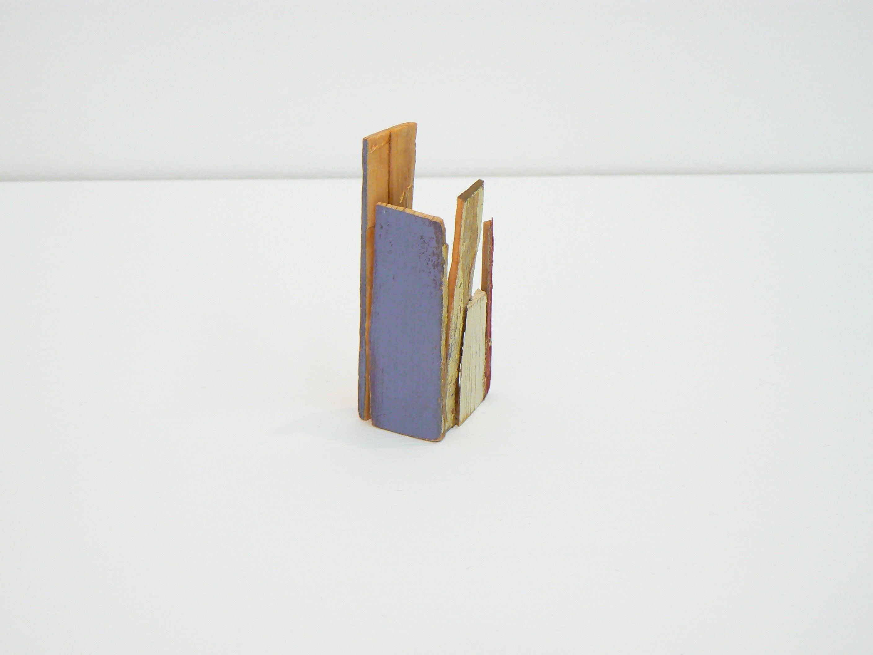 Liz Sweibel, Untitled (Scrapings #2), 2016, Wood, Paint, Found Objects