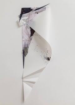 Gelah Penn 'Polyglot Y #9', 2014, Metal, Wire, Mylar, Acrylic Paint, Lenticular