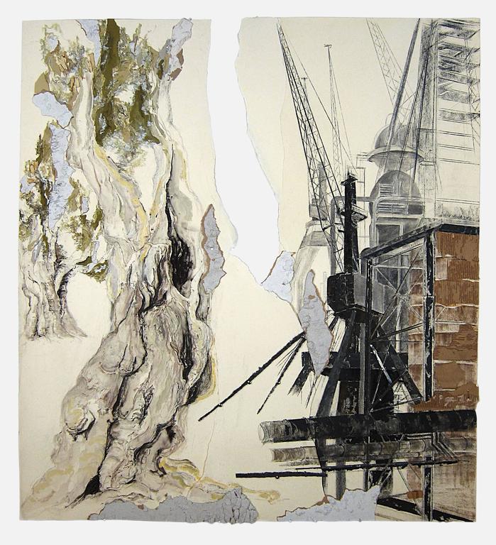 Linda Cunningham, 'Still Standing Still', 2011, Steel, Pastel, Ink