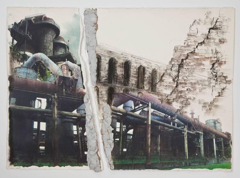 Linda Cunningham, 'Engineering Avant Garde', 2015, Pastel, Ink