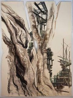 Linda Cunningham, 'Still Structures II', 2011, Pastel, Ink