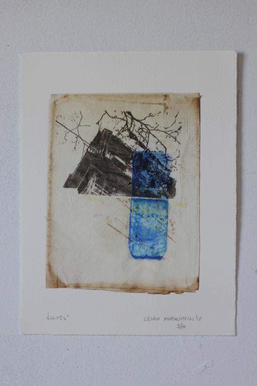 Levan Mindiashvili Abstract Print - Suites 3/10
