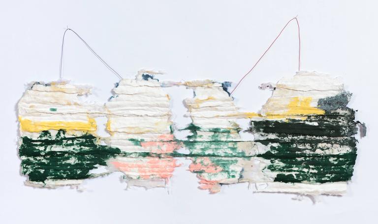 Sylvia Schwartz, 'Home no.1', 2015, Handmade Paper, Pigment, Wire