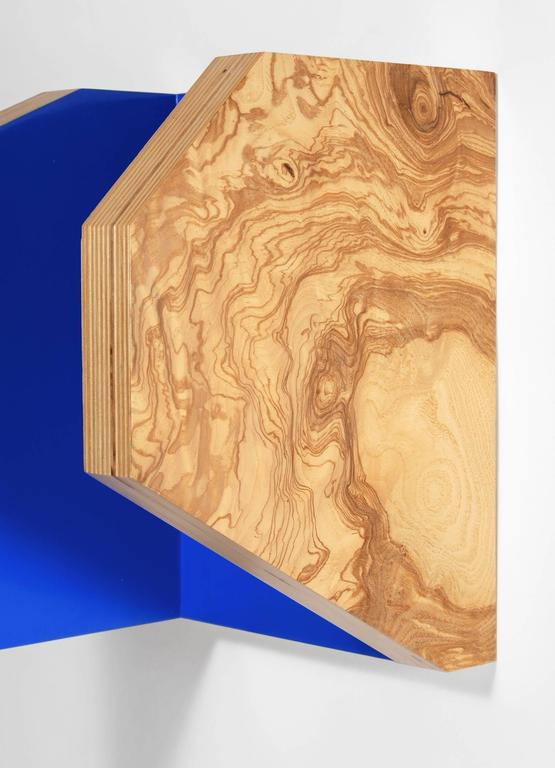 Richard Bottwin, 'Parallel #5', 2006, Wood  - Brown Abstract Sculpture by Richard Bottwin