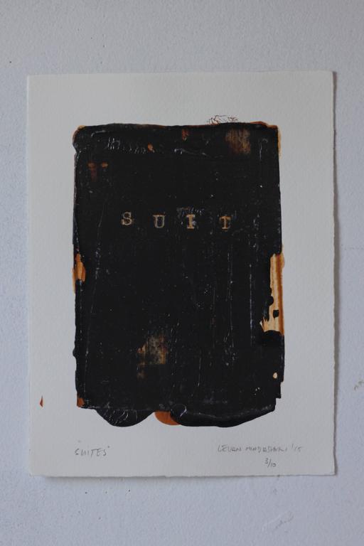 Levan Mindiashvili, 'Suites', 2015, Ink, Acrylic Paint, Archival Paper  - Print by Levan Mindiashvili