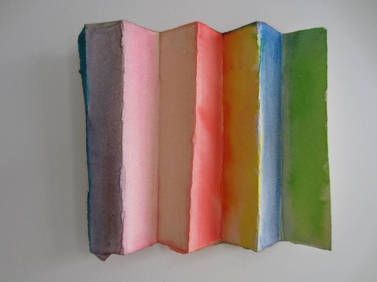 Ellen Hackl Fagan, Doremi_Musicians-L, 2012, ink, gouache, rag paper - Art by Ellen Hackl Fagan