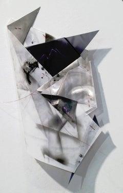 Gelah Penn, Polyglot #31, 2015, Plastic, Mylar, Wire, Metal, Acrylic Paint
