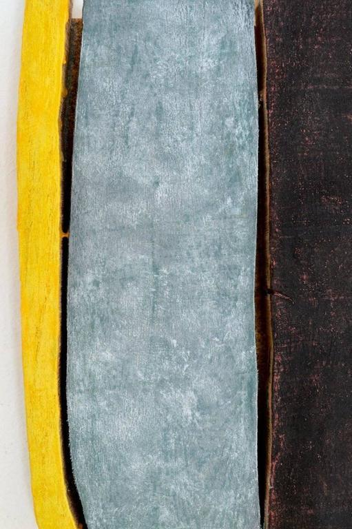 Jesse Hickman, Note Three Eight Sixteen, 2016, Enamel, Wood, Glue  - Minimalist Sculpture by Jesse Hickman