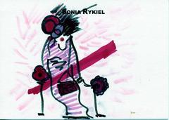 Sonia Rykiel Drawing, 2000's