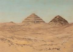 Pyramid of Sakkara, Egypt