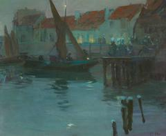 The Harbor at Night, Concarneau
