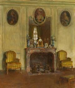 Interior at the Chateau du Breau