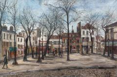 La Place du Tertre in Montmartre Paris