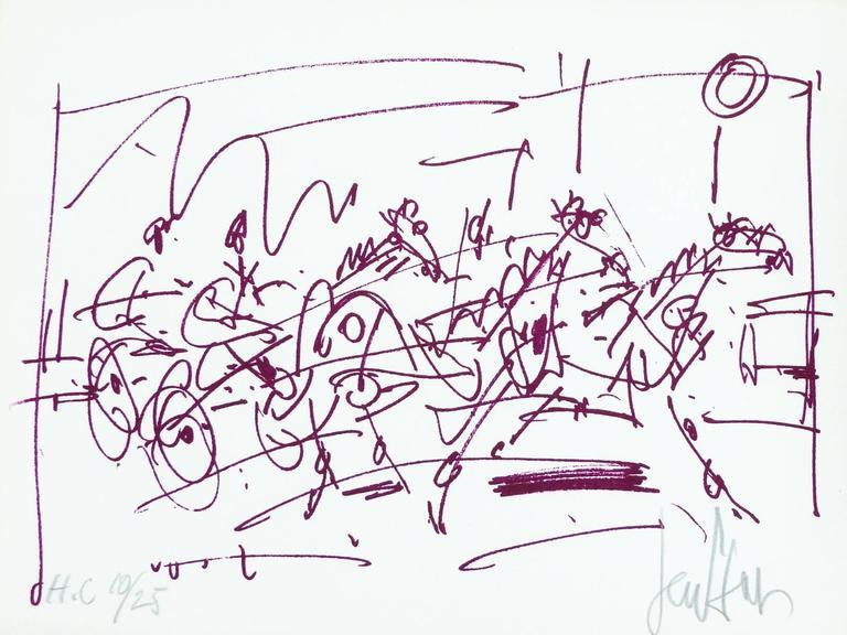 Les Sulkys - The horses race