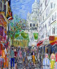 The street of Steinkerque in Montmartre