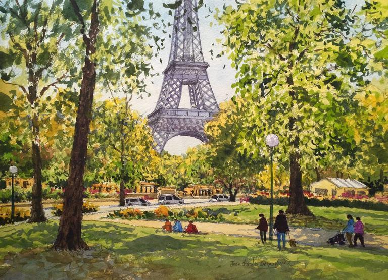 Jean charles decoudun les jardins du trocad ro et la for Jardin trocadero
