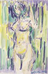 The nude woman