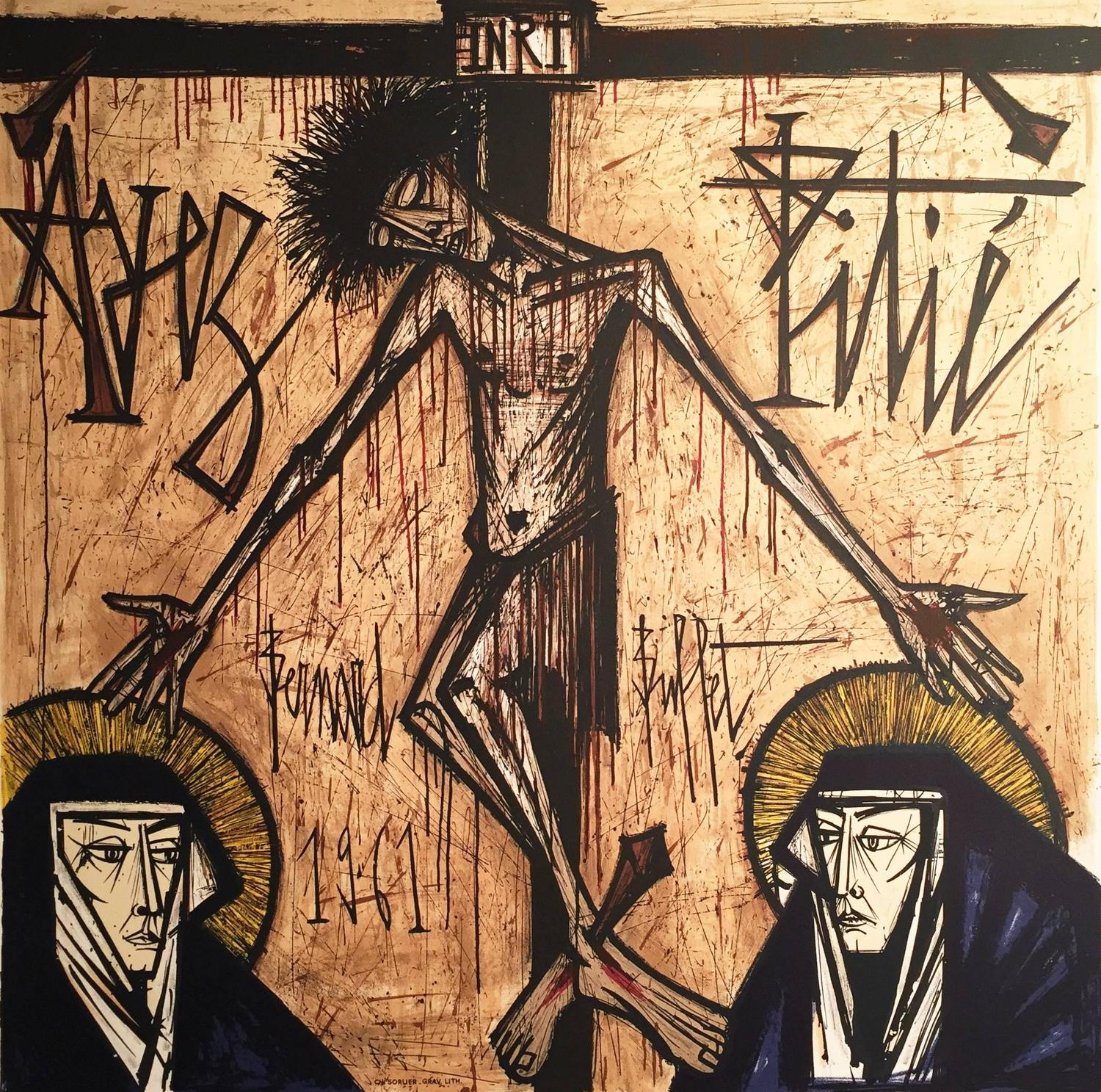 Bernard Buffet, 1928-1999 - Pensées, Print For Sale at 1stdibs