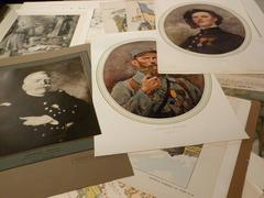 A collection of 500 originals WW1 prints by various artists