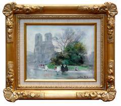 The Cathedrale Notre-Dame de Paris
