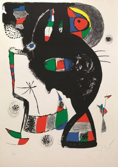 Joan Miró - Abstract Composition 42 rue Blomet