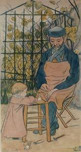 The Grand-Father and the Child or Auguste Delâtre et Jacqueline