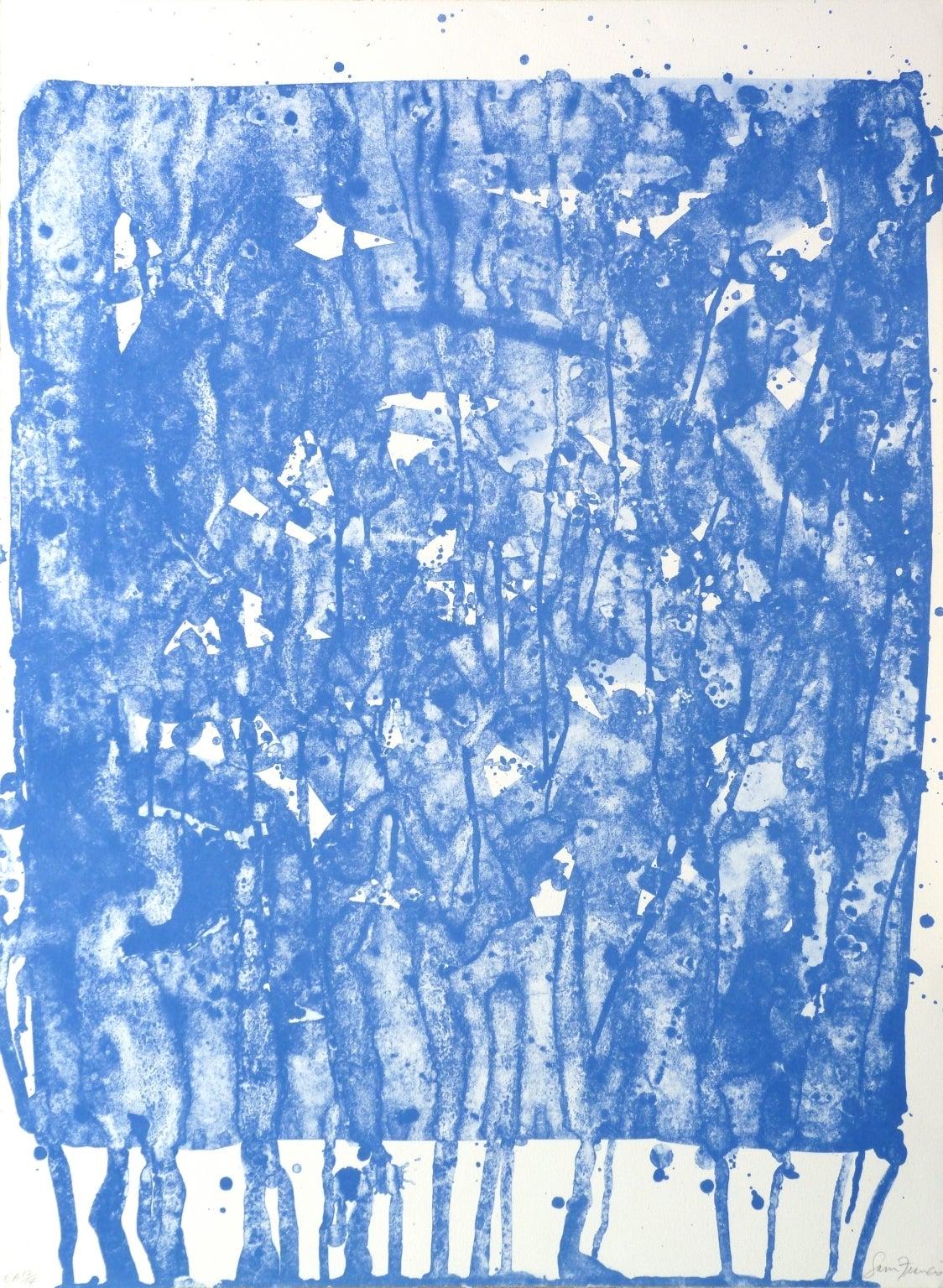 Original Abstract Lithograph