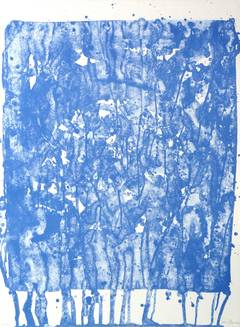 Original Abstract Lithograph