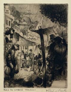 Place du marché - Trouville