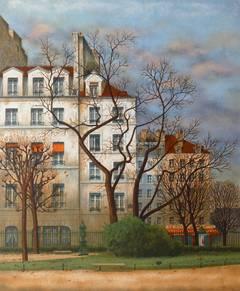 Square Viviani in Paris