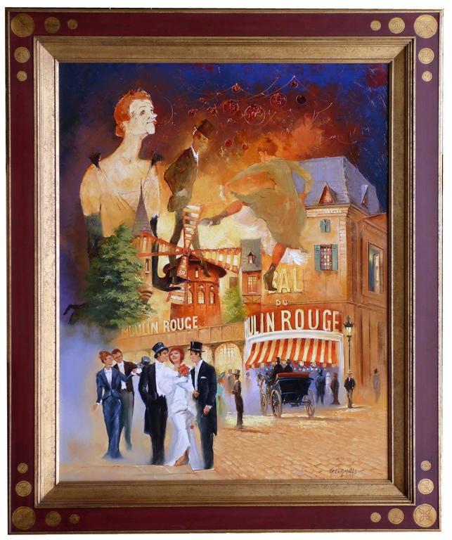 Le Moulin-Rouge à Montmartre La Goulue Valentin le désossé