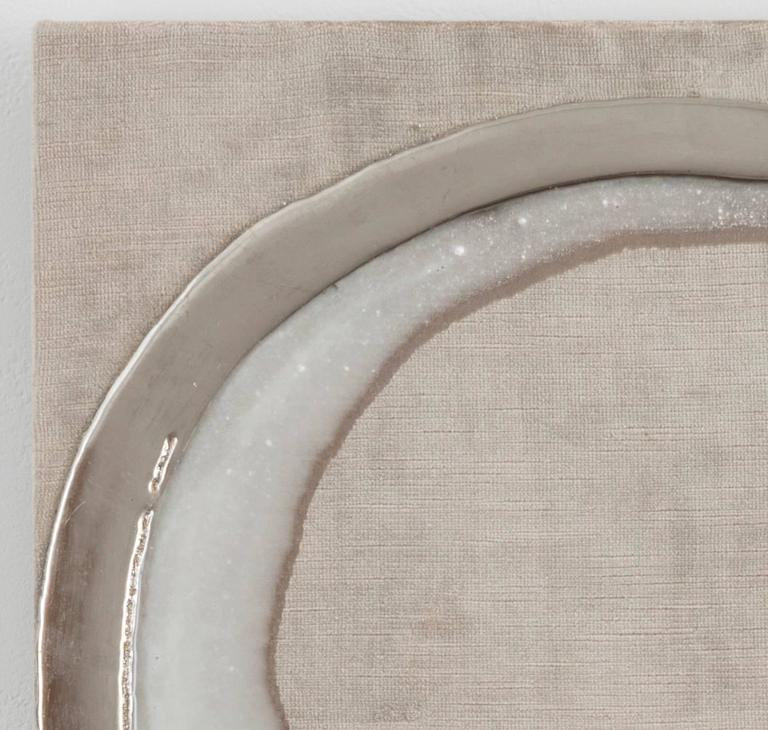 Pt78 Platinum - Painting by Nancy Lorenz