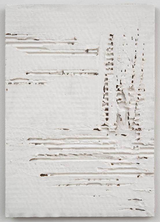 Nancy Lorenz Abstract Painting - Untitled Cardboard V