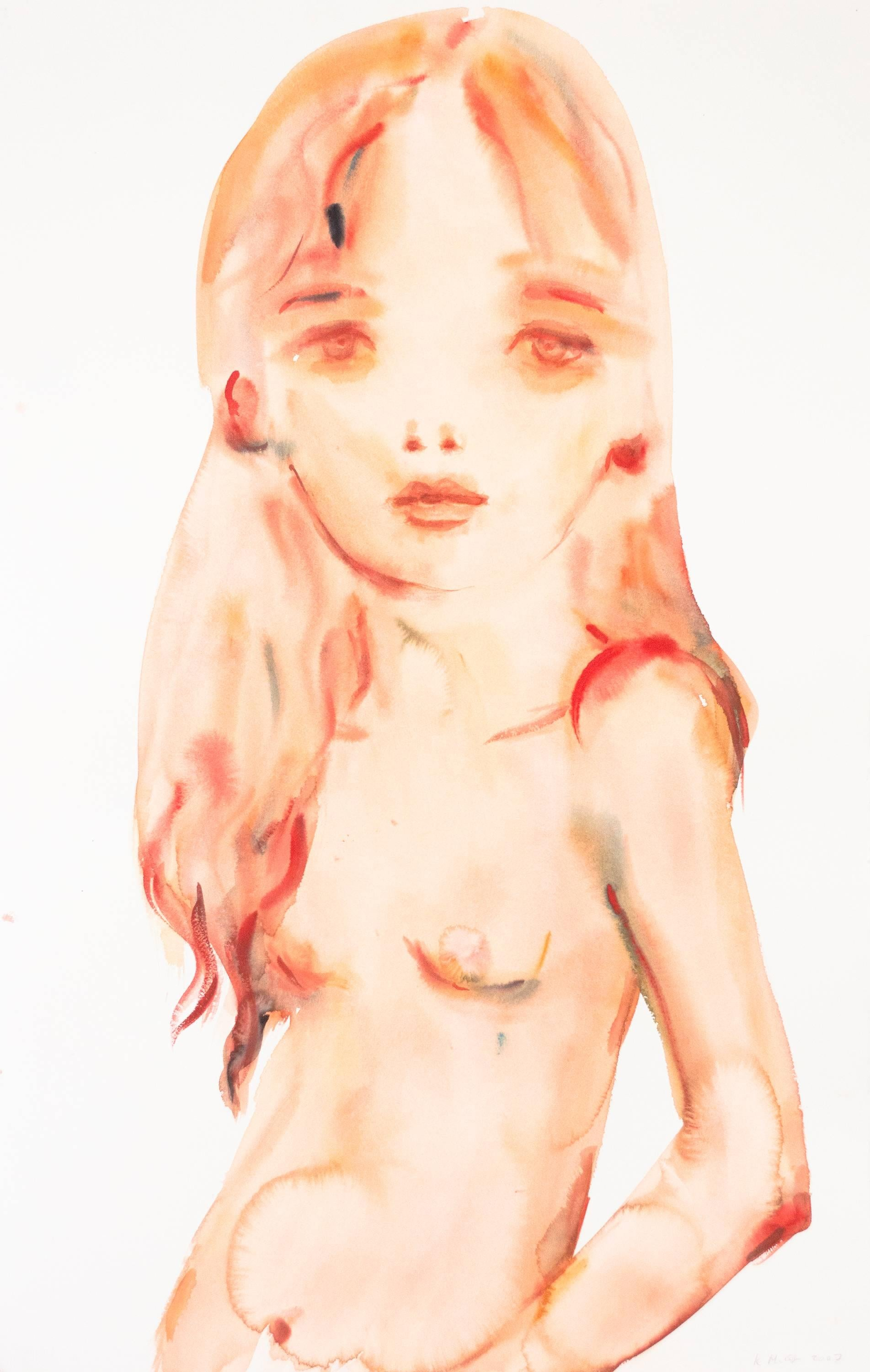 Untitled (Orange Girl)