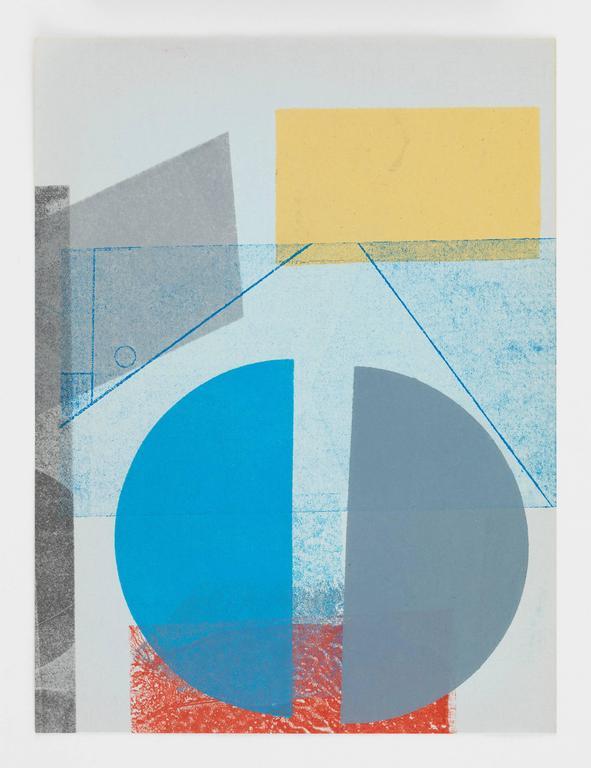 austin thomas blue on blue stationary print for sale at 1stdibs